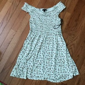 Off the shoulder sun dress